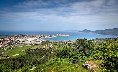 Great view of Elba Island in Tuscany, Italy. Photo via Flickr:Enrico Strocchi