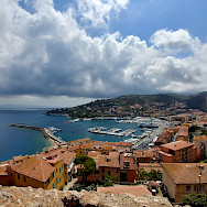 Another view of Porto Santo Stefano, Tuscany, Italy. Photo via Flickr:Siegfried Rabanser