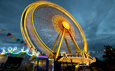 Volksfest in Aschaffenburg, Germany. Flickr:Carsten Frenzl