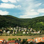 The Mainz and Neckar Rivers run through Heidelberg, Germany. Flickr:dmytrok