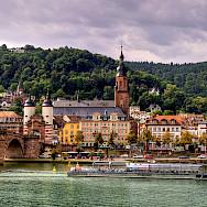 Alte Brücke over the Mosel River in Heidelberg, Germany. Flickr:Alex Hanoko