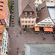Bird's eye view of Heidelberg, Germany. Flickr:hdvalentin
