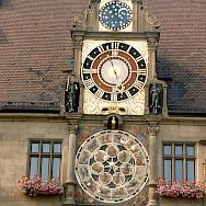 Astronomical Clock in Heilbron. Flickr:roger4336