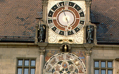 Astronomical Clock in Heilbron. Flickr:roger4336