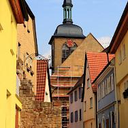 Lauffen am Neckar in the district of Heilbronn, Baden-Württemberg, Germany. Flickr:dmytrok