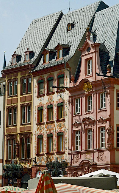 Beautiful facades in Mainz, Germany. Flickr:Compte d'Artagnan
