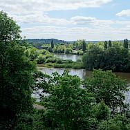 Main River running through Aschaffenburg, Germany. Flickr:Mario Dieringer