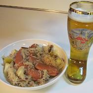 Traditional Deutsche cuisine in Stuttgart, Germany. Flickr:saucyglo