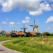 Biking the outskirts of Amsterdam in North Holland, the Netherlands. Flickr:Francesca Cappa