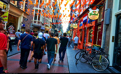Always a party in Amsterdam, North Holland, the Netherlands. Flickr:Moyan Brenn