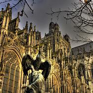 Saint John's Cathedral in Den Bosch (officially: 's-Hertogenbosch) in North Brabant, the Netherlands. Flickr:bert kaufmann