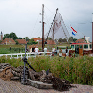Flying the flag in Enkhuizen in the Netherlands. Flickr:Arend