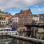Along the River Linge in Gorinchem, South Holland, the Netherlands. Flickr:Frans Berkelaar
