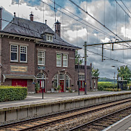 Train station in Limburb, the Netherlands. Flickr:Frans Berkelaar