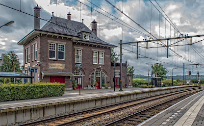 Train station in Limburb, the Netherlands. Flickr:Frans Berkelaar