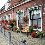 Brick homes are common in Sneek and all of the Netherlands. Flickr:bert knottenbeld