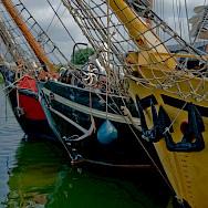 Boats in Stavoren on the IJsselmeer, the Netherlands. Flickr:Marja van Bochove