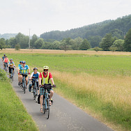 Biking the route from Aschaffenburg to Ludwigsburg, Germany. Photo via TO