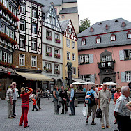 Another view of the Marktplatz in Cochem, Germany. Flickr:Roman Tikgeist