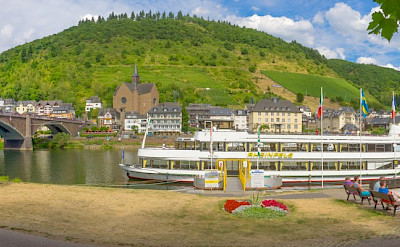 Panorama of Cochem on the Mosel River, Germany. Flickr:Frans Berkelaar