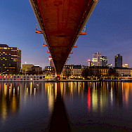 Bridge in Frankfurt over the Rhine River in Germany. Flickr:Carsten Frenzl