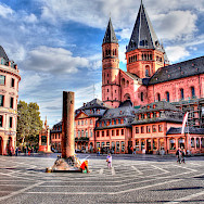 Cathedral in Mainz, Germany. Flickr:polybert49