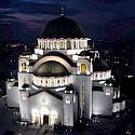 St Sava Orthodox Church, the largest in the world, in Belgrade, Serbia. Wikimedia Commons:Almarq