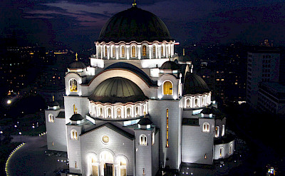 St Sava Orthodox Church, the largest in the world, in Belgrade, Serbia. Wikimedia Commons:Almarq