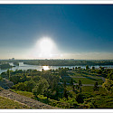Danube River in Belgrade, Serbia. Flickr:mcveja