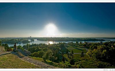 Danube River in Belgrade, Serbia. Flickr:mcveja