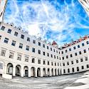 Courtyard of Bratislava Castle in Bratislava, Slovakia. Flickr:Kurt Bauschardt