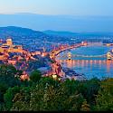 Biking the Danube River in Budapest, Hungary. Flickr:Moyan Brenn