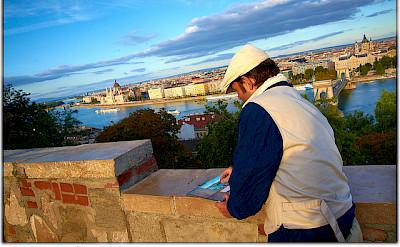 Artist at work in Budapest, Hungary. Flickr:Moyan Brenn
