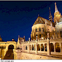 Massive architecture in Budapest, Hungary. Flickr:Moyan Brenn