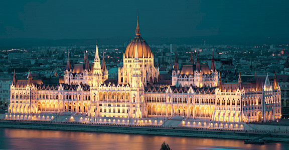 Parliament in Budapest, Hungary. Flickr:Keith Yahl