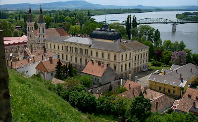 Former Archbishop Palace on the Danube River in Esztergom, Hungary. Flickr:gregoriosz