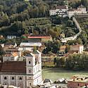 Overlooking Passau in Bavaria, Germany. Flickr:Raymond Zoller