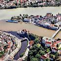 Bike rest in the Three-River City of Passau, Bavaria, Germany. Flickr:Rob Roodselaar-PublicDomain