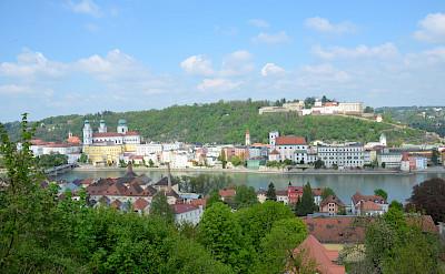 Bike tour starts in Passau along the Danube River in Bavaria, Germany. Flickr:sugarbear96