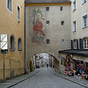 Quiet street in Passau, Bavaria, Germany. Flickr:reisender1701