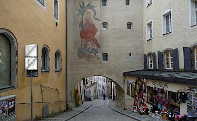 Quiet street in Passau, Bavaria, Germany. Flickr:reisender1701