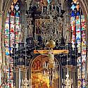 Stephansdom is magnificent in Vienna, Austria. Flickr:Dennis Jarvis