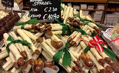 """Chocolate """"spargel"""" in Vienna, Austria. Flickr:Andrew Nash"""