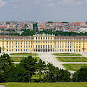 Massive Schonbrunn Palace in Vienna, Austria. Flickr:Kurt Bauschardt