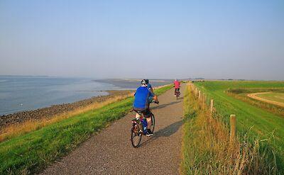 Biking in Zeeland, the Netherlands. ©TO