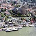 Great view of Dordrecht in South Holland, the Netherlands. Wikimedia Commons:Joop van Houdt
