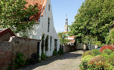 Bike tour through Veere in Zeeland, the Netherlands. Flickr:Rolf Schmitz