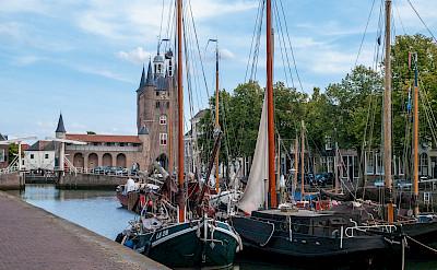 Zuidehaven poort or Old Harbor in Zierikzee, the Netherlands. Flickr:Frans Berkelaar