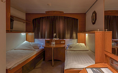 Twin Cabin | Olympia | Holland & Germany Bike & Boat Tours