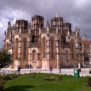 One of many great Cathedrals to be seen en route in Portugal.